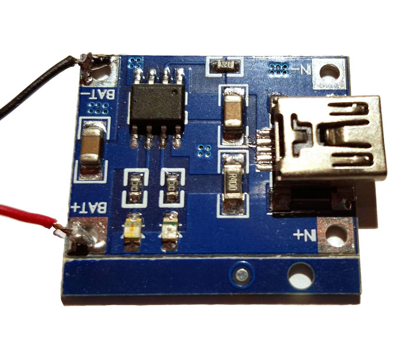 Regulator i zasilacz dla baterii Li-Ion