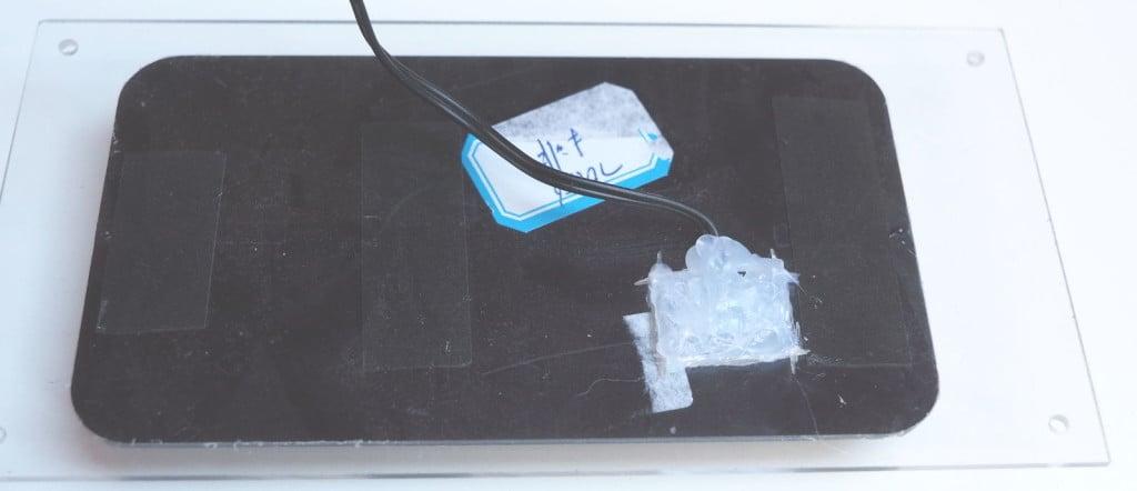 Tył panelu fotowoltanicznego
