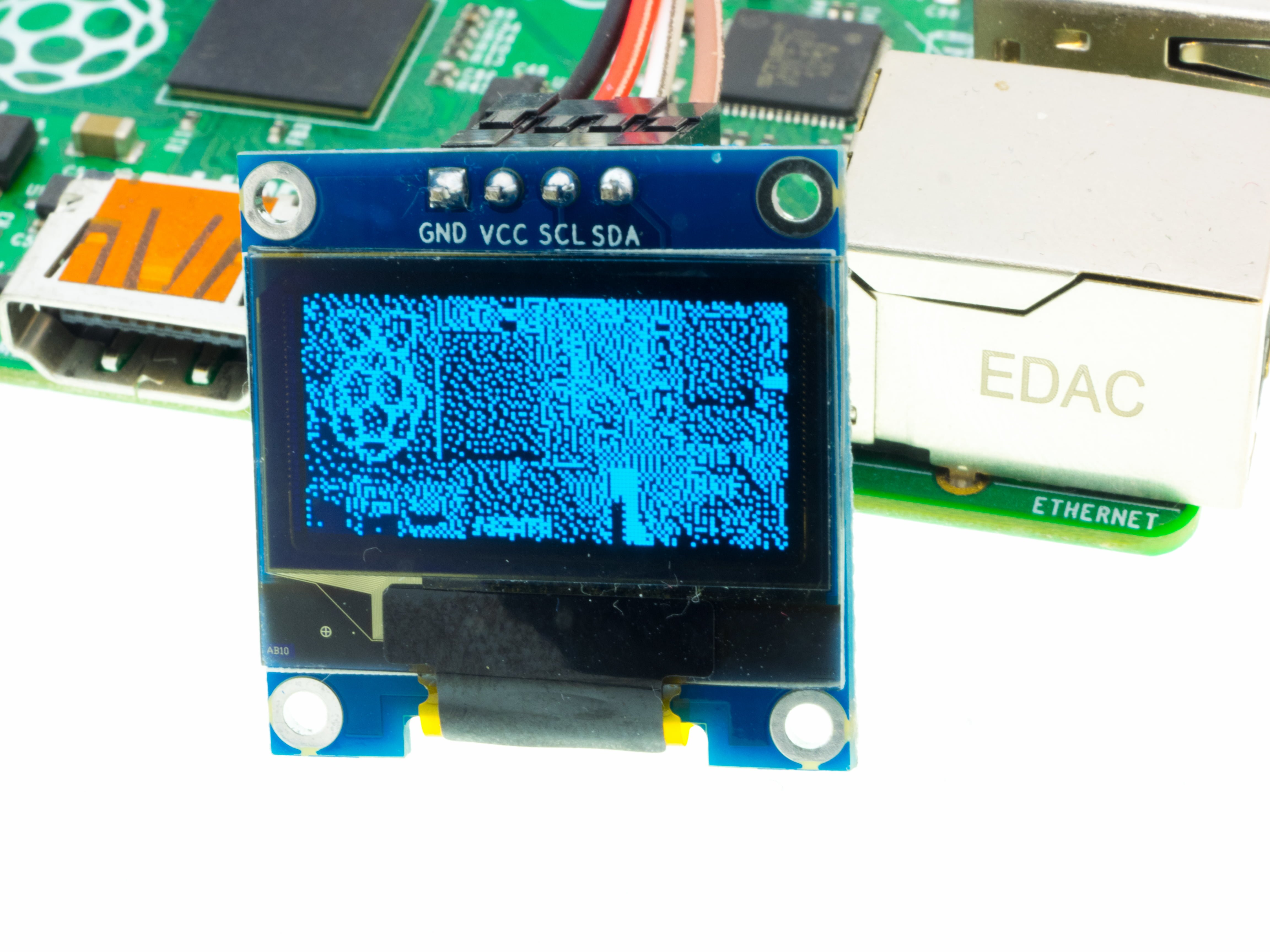 Wyświetlacz OLED SSD1306 - grafika