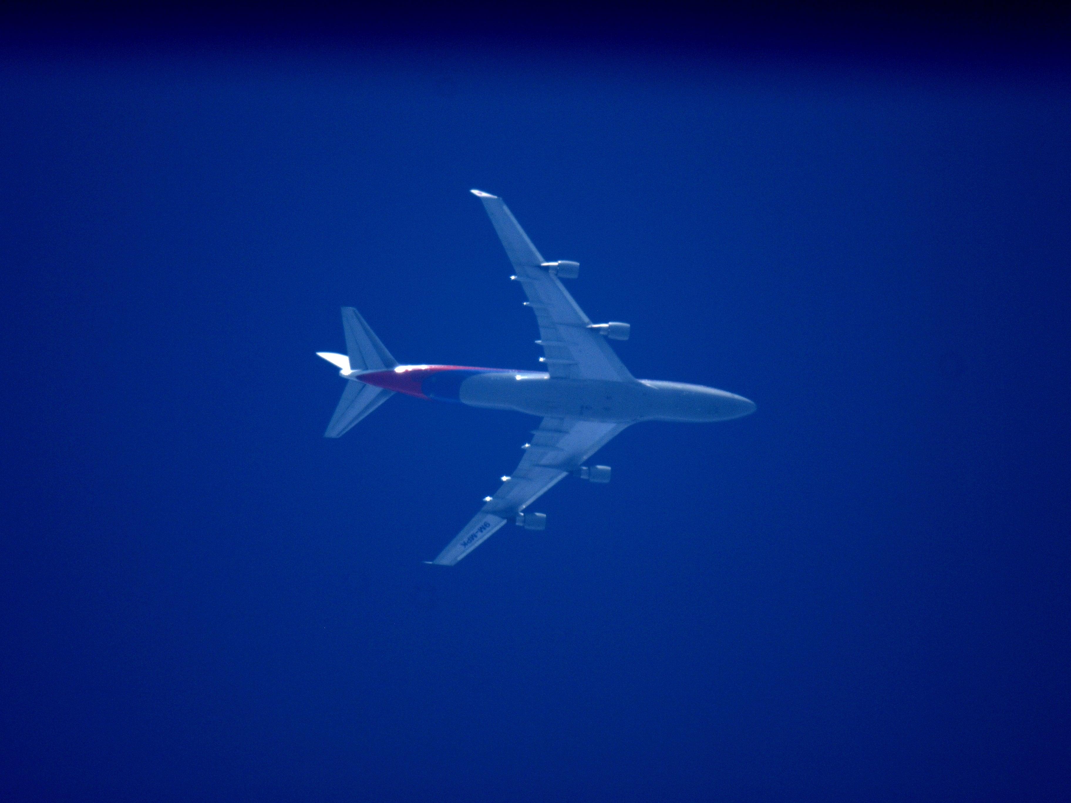 Malasian 747 @ RNAV