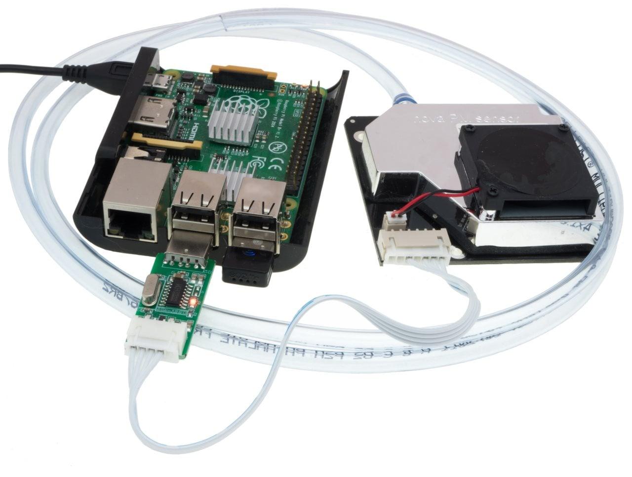 SMOG = Raspberry Pi B z SDS011