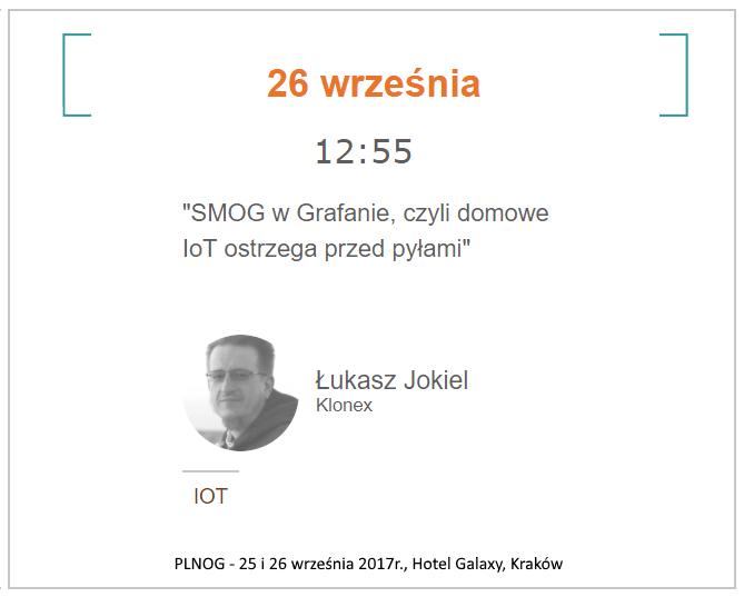 PLNOG 19 - SMOG w Krakowie