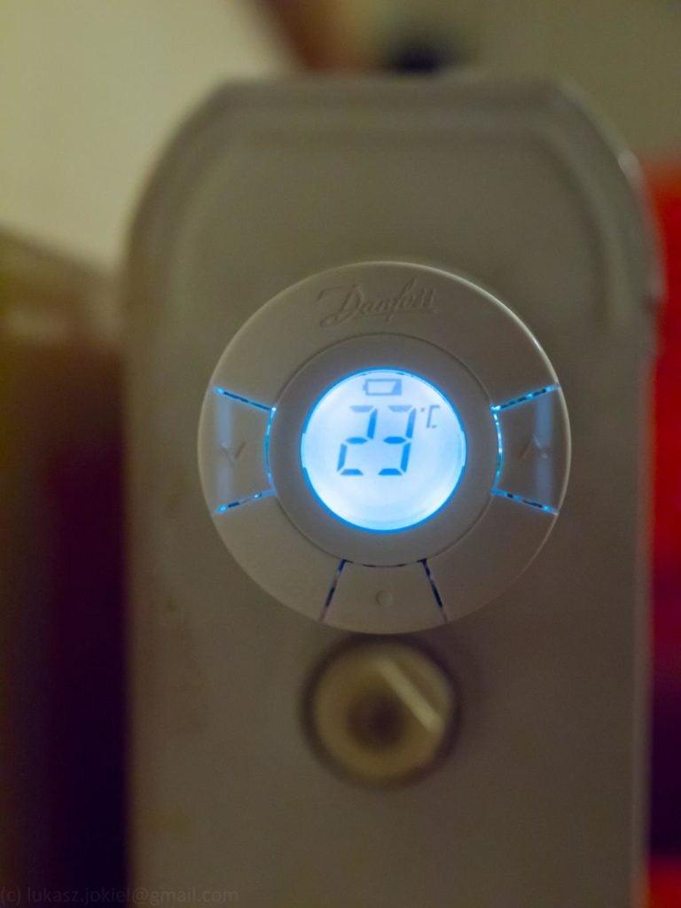 Z-Wave - termostat grzejnikowy Danfoss