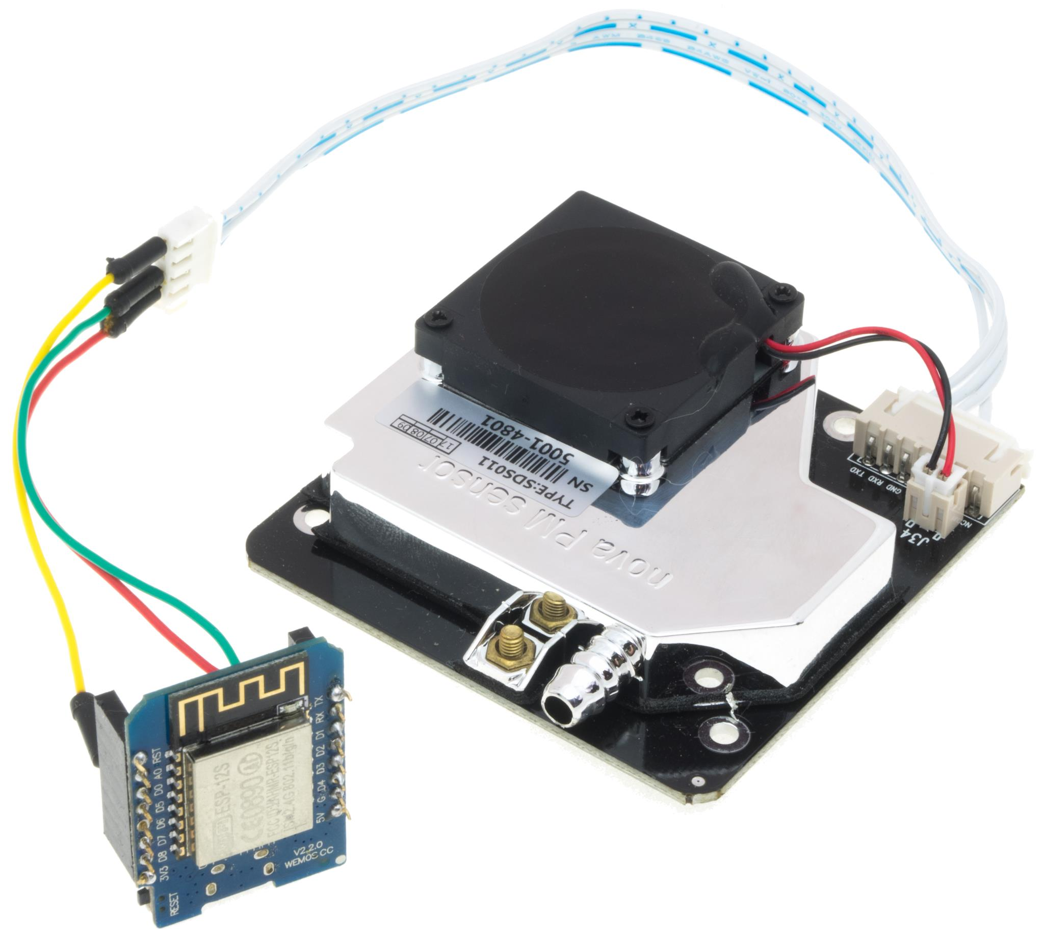 SMOG Senseor with SDS011 and ESP8266 | Let's play with the