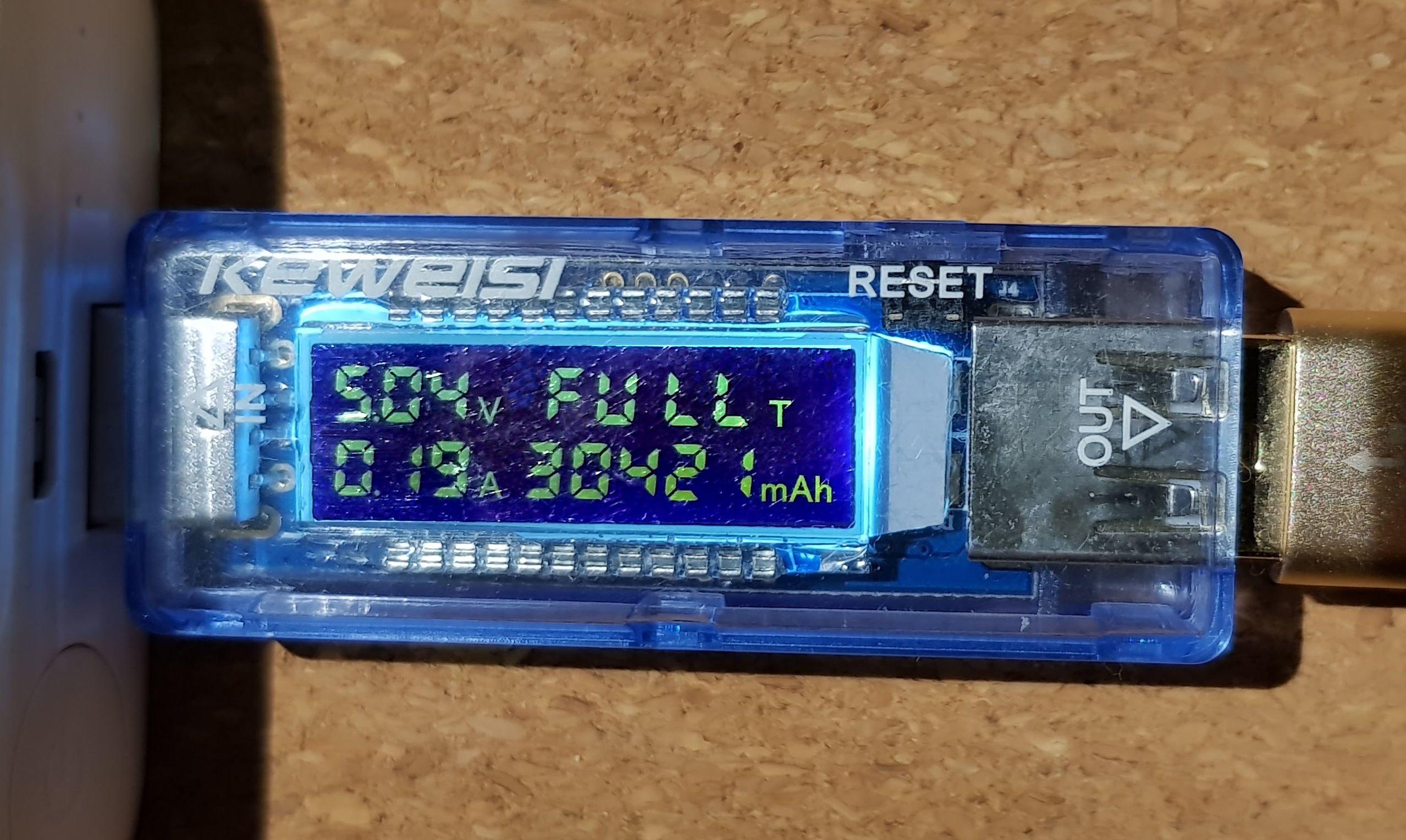 ESP and SDS011 - power usage
