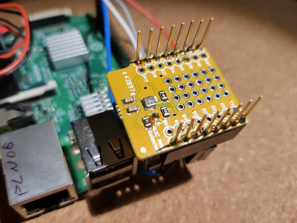 BME680 on Raspberry Pi 3