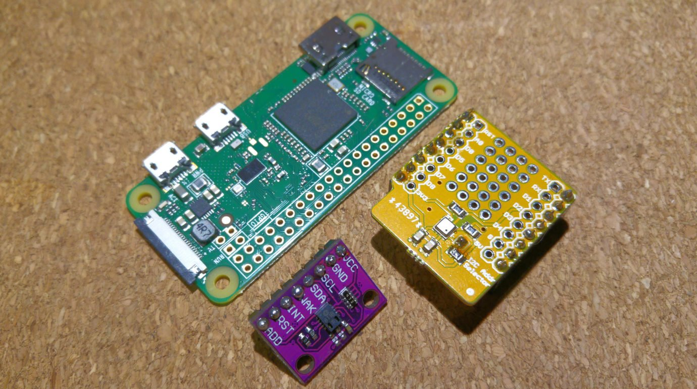 CCS811 & BME680 with Raspberry Pi 0 W