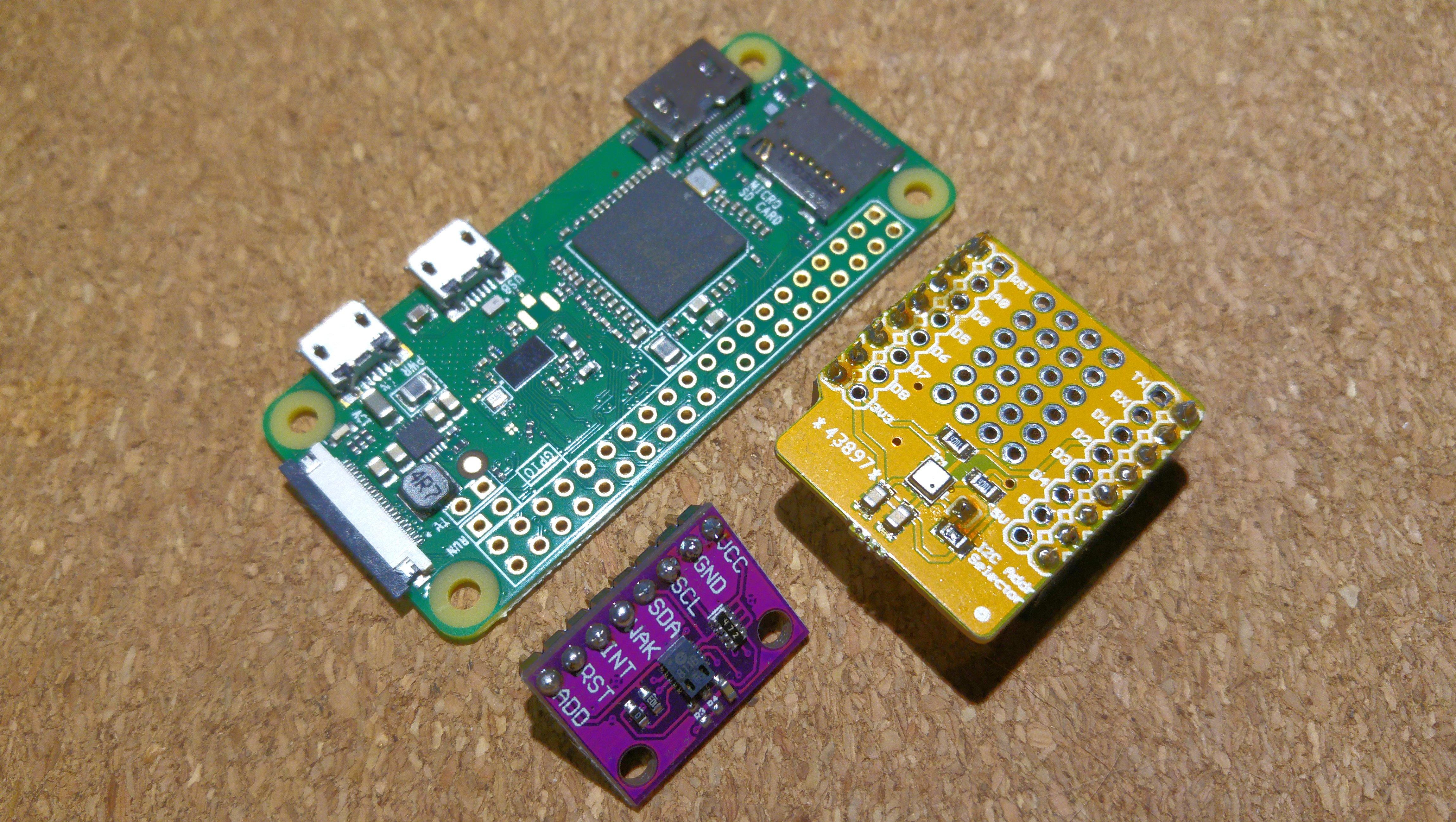 CCS811 & BME680 with Raspberry Pi 0 W