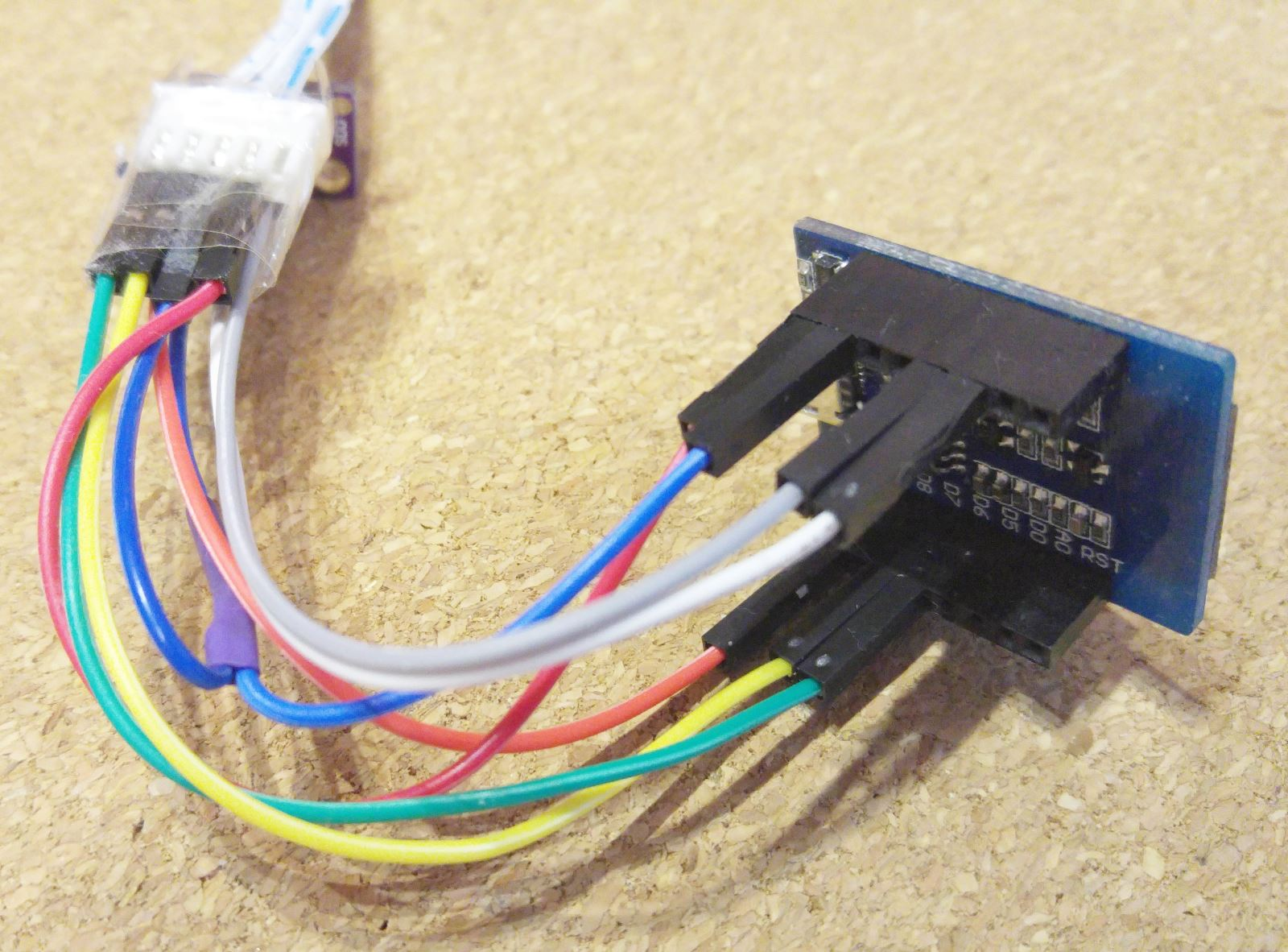 SDS011 RX/TX - Wemos D1 mini