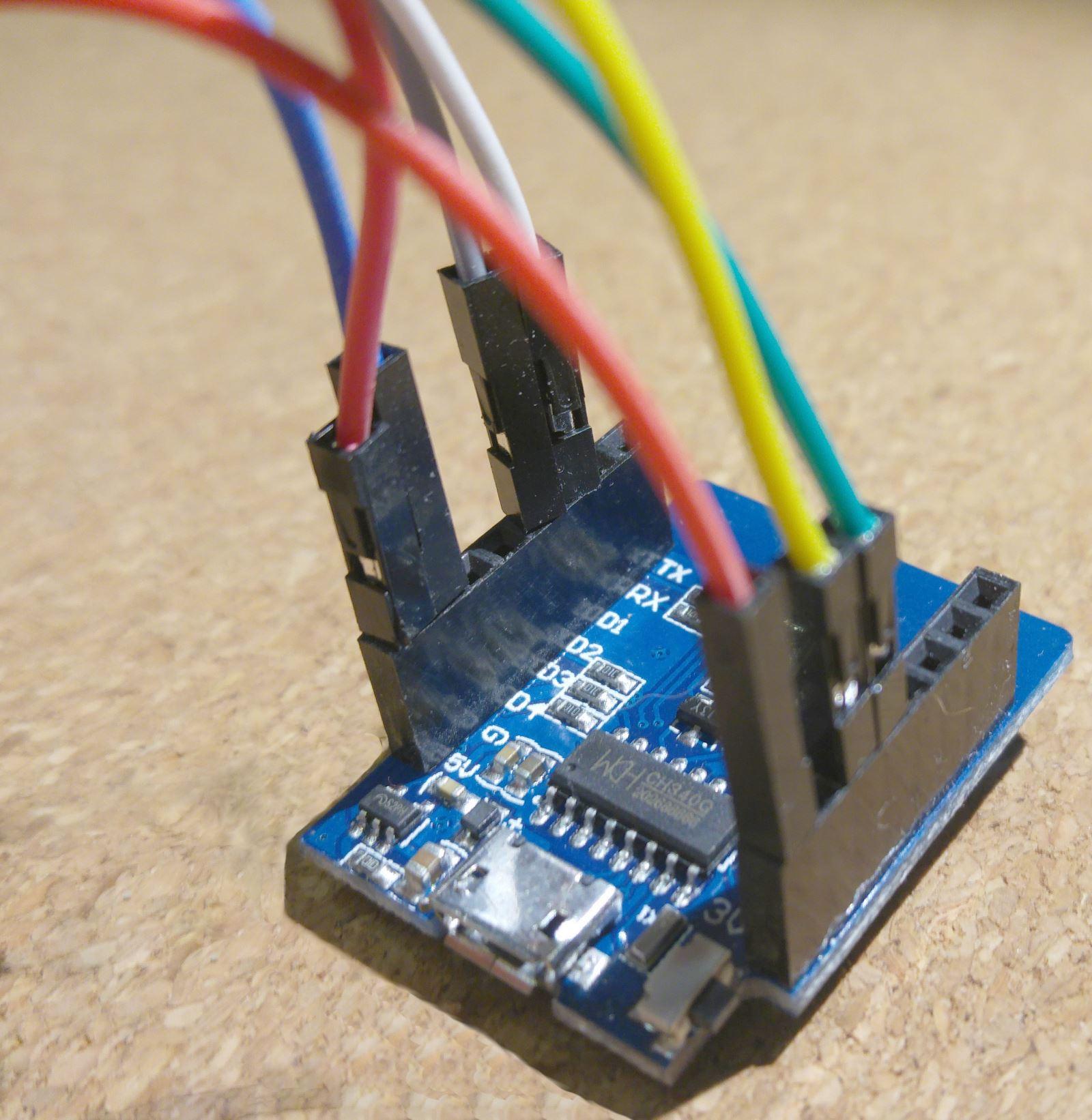 ESP8266 - BME280- połączenia
