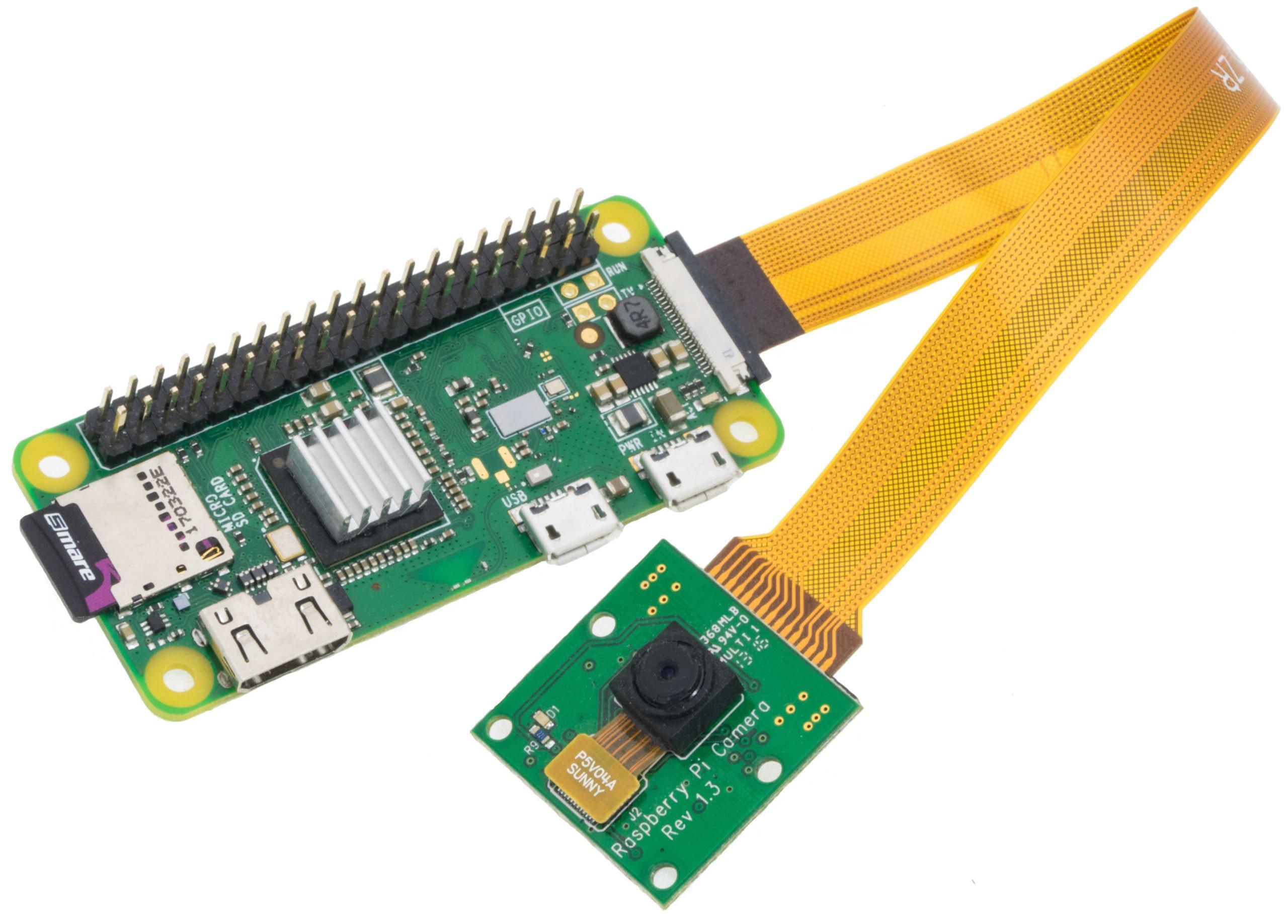 Raspberry Pi Zero W with camera