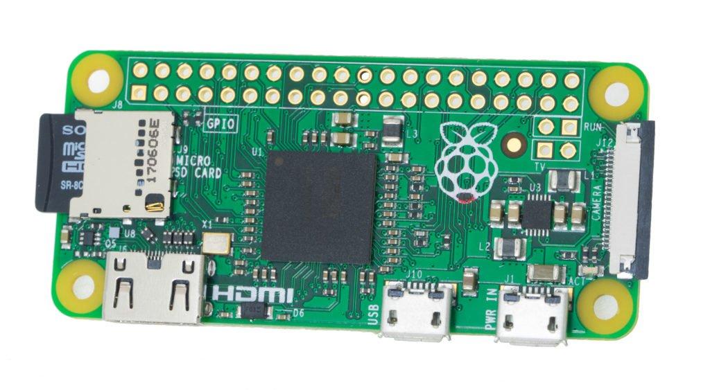 Raspberry Pi Zero Front