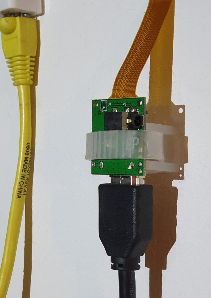 Begining of HDMI RPi camera extension